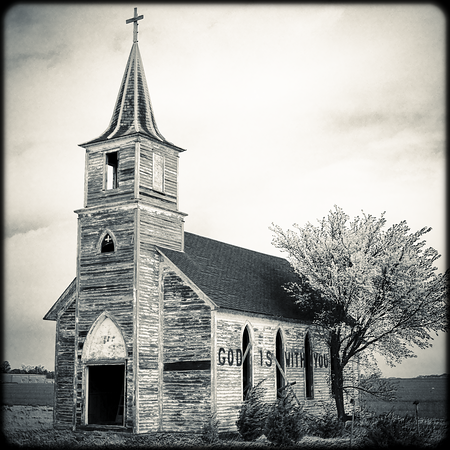 """Abandoned Church"" -Nebraska (2012)"