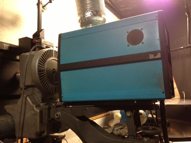 Original 35mm projector