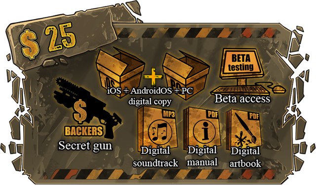 +secret gun, and closed beta access