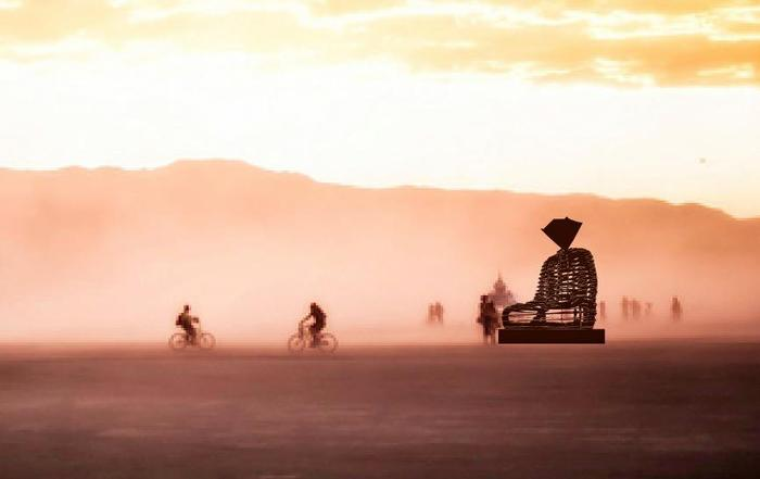 """""""Enlightenment"""" on the Playa"""