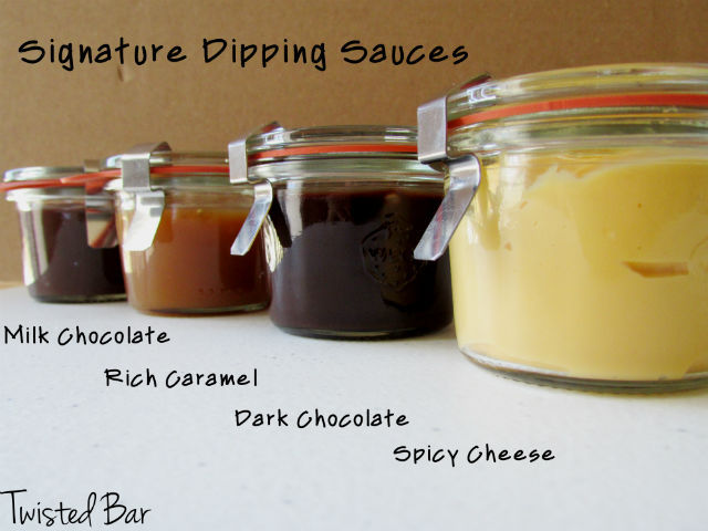 Four  Housemade Delectable Dipping Sauces!
