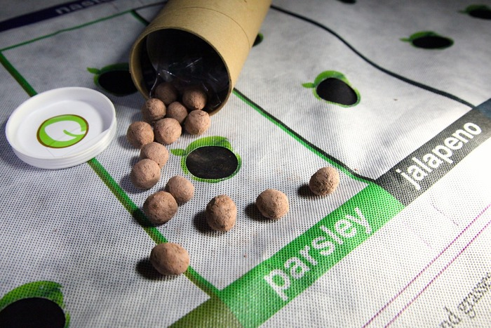 Reorder seedball refills at Nourishmat.com