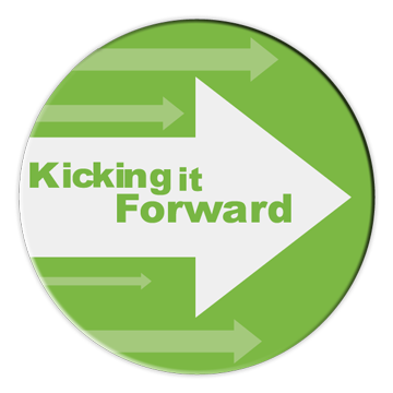 We will spend 5% of the funds brought in from sales of the game on other Kickstarter projects. That is our pledge. KickingItForward.org