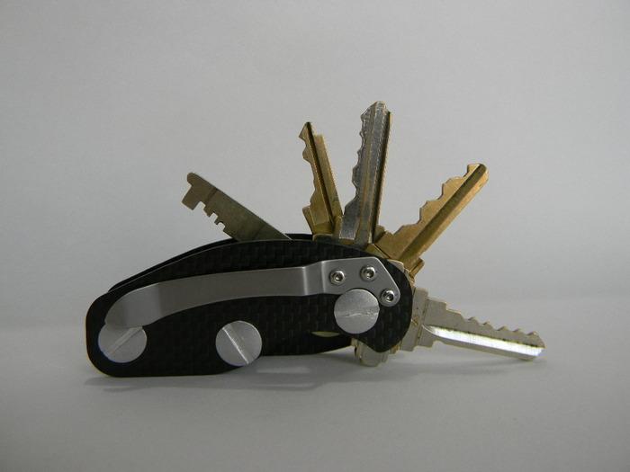 Switchy Carbon Fiber Key Holder By Michael Sargent Kickstarter