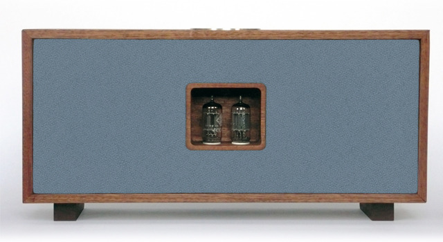 Shown here in Quarry Blue, the Duo is built from solid hardwood allowing the entire system to provide stable resonance and ensure a full bodied sound.