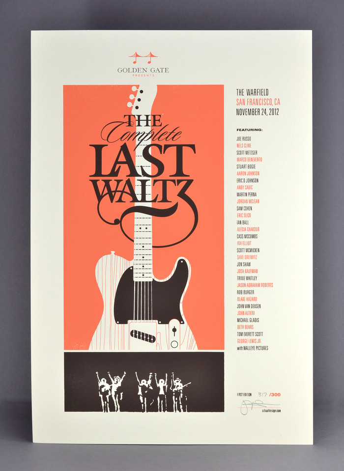 Legendary Bay Area Rock Artist Jim Schaaf designed a limited edition poster. Available here only!