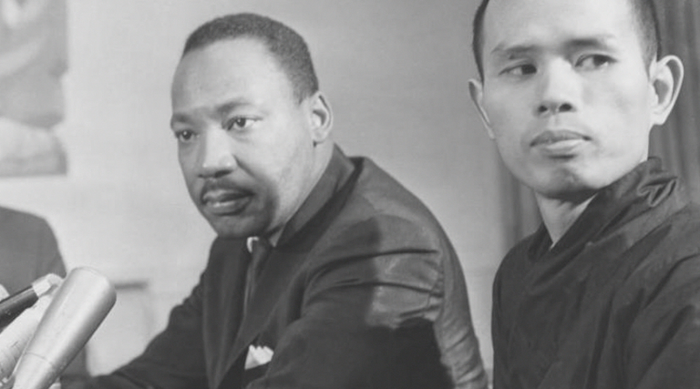 Martin Luther King, Jr. and Thich Nhat Hanh