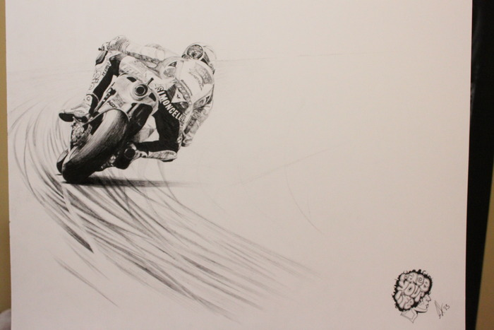 "My tribute to Marco Simoncelli, ""Everything You Got""."