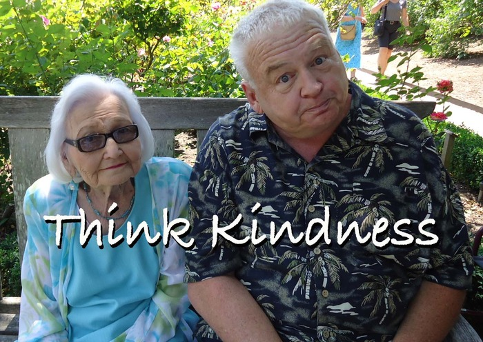 Ann & Mark Wright remkjnd you to Think Kindness.