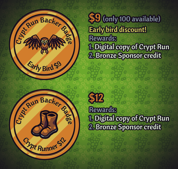 Crypt Run bronze rewards
