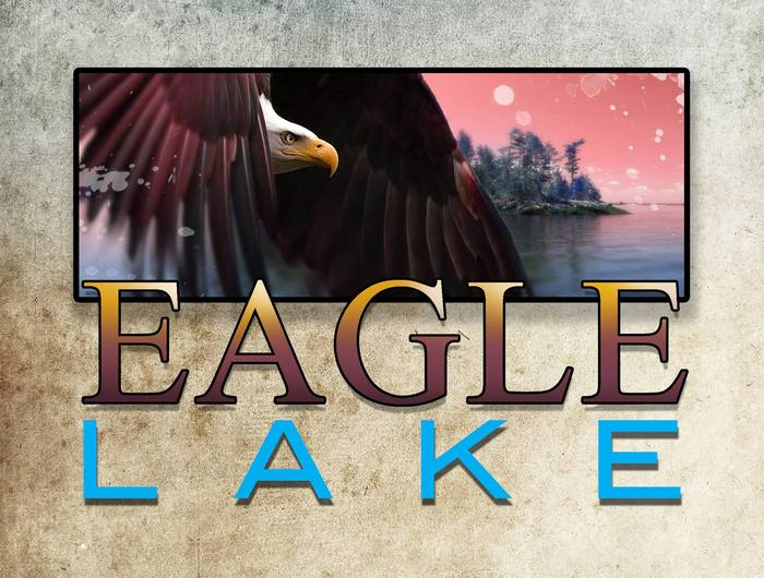 Eagle Lake art work created by Marcia K. Moore (please do not use without permission)