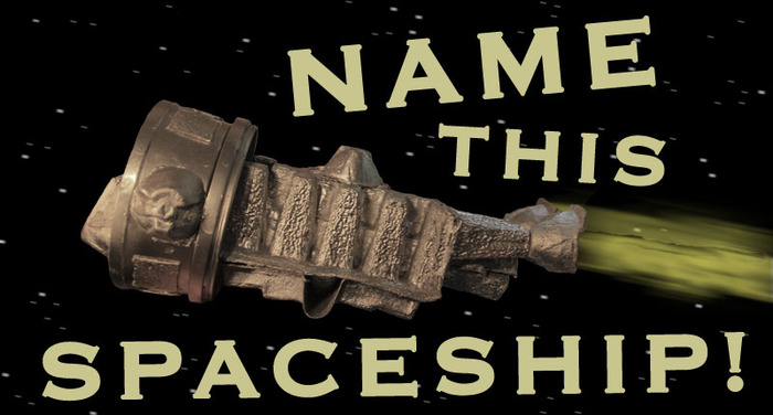 Donate $100 to name this spaceship!