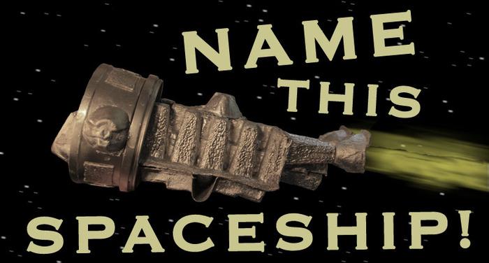 Donate $100 to name this spaceship!
