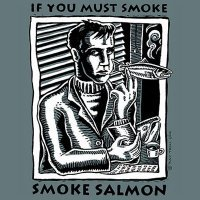 Smoking Salmon!