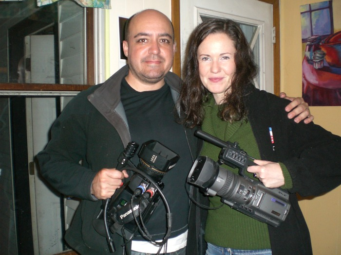 John Rotan and Executive Producer / Actress, Giada Dobrzenska