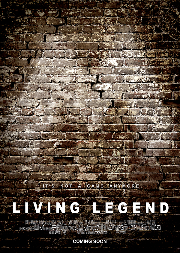 """Living Legend"" - Official Poster"