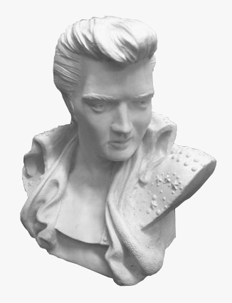 THE Bust of Elvis