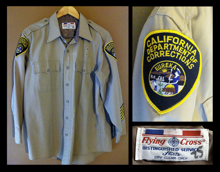 Vintage CDC Uniform Shirt