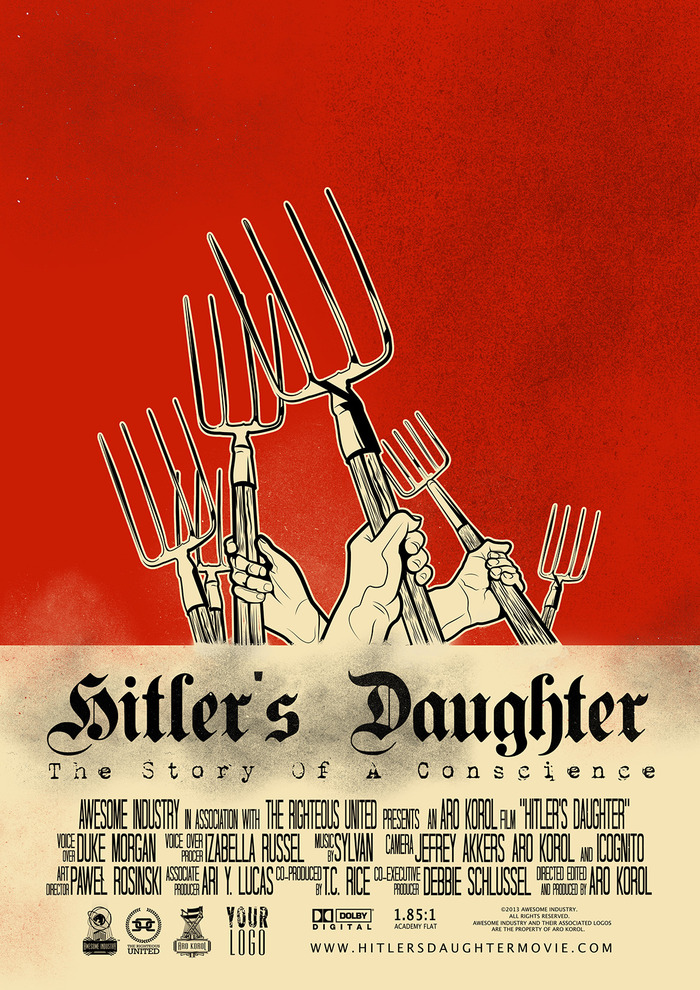 """Hitler's Daughter"" Poster N°02"