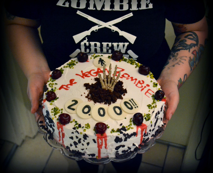 The Vegan Zombie on Facebook: Celebrating 20,000 LIKES!