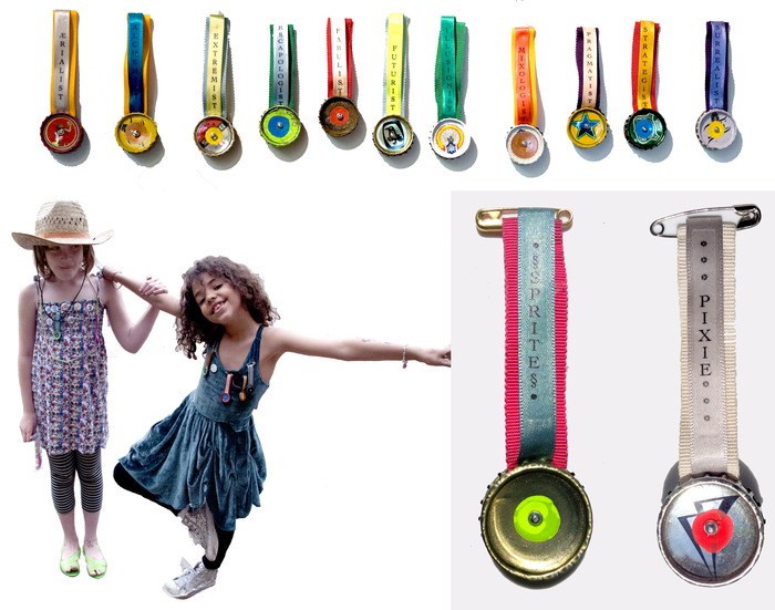 Sprite and Pixie medals are Collectors Items