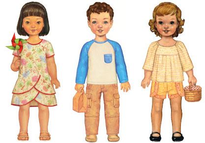 Three of the forty amazingly cute digital sewing patterns available from Oliver + S. Click this image to see all forty.