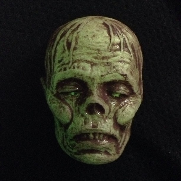 Glow in the Dark Lil' Zombie Head magnets- $35