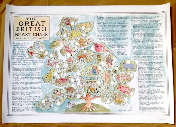 Adam Dant Great British Beast Chase
