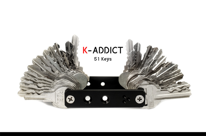 K-Addict 51 Keys (holds as many keys as need)