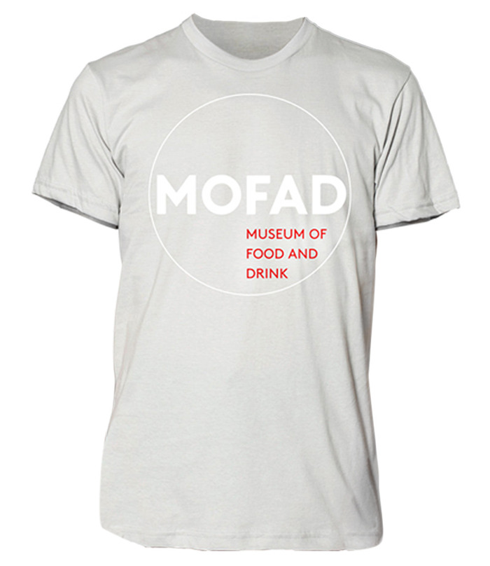 T-Shirt Option 2: MOFAD Logo.