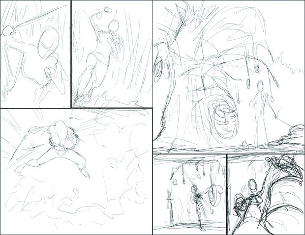 Sketches of Pages 2 and 3