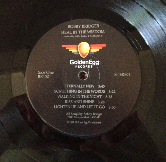 Pressed in 1981, the record includes the full album of 9 songs both A & B sides.