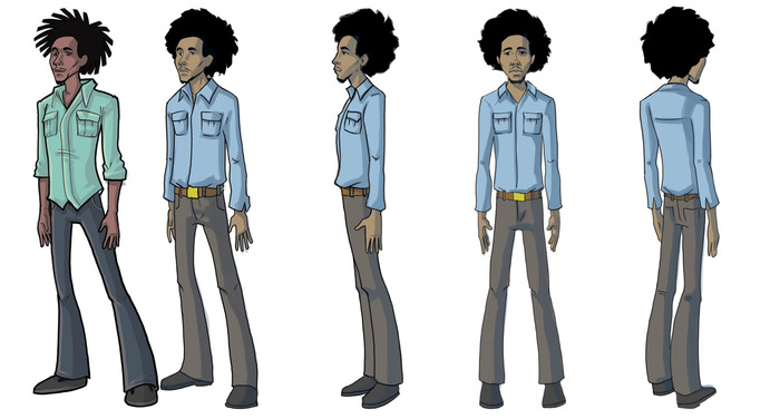 Bolt Riley's Character Concept Art