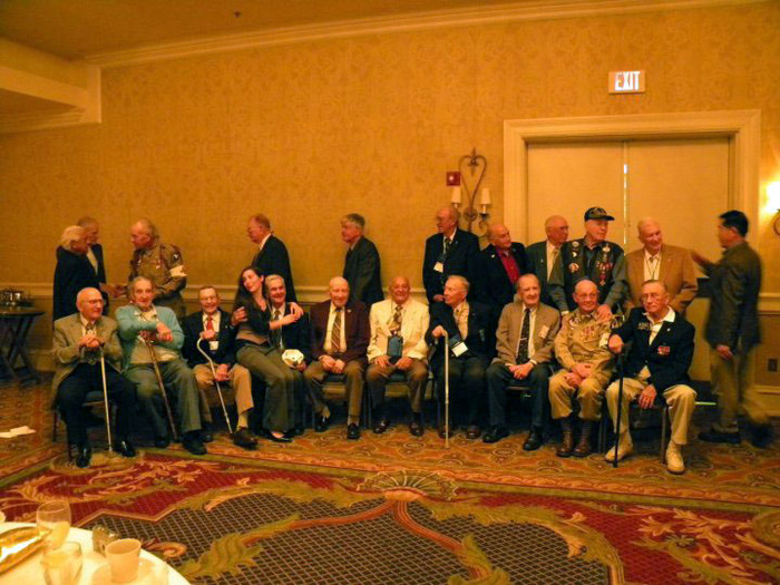 World War II Veterans at the 101st Airborne Reunion