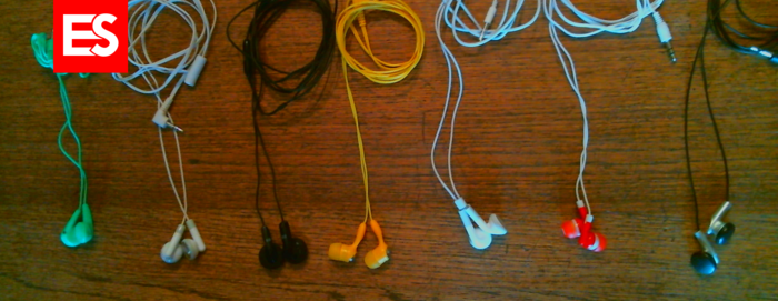 The Ear Secure device is compatible with many different types of earbuds.