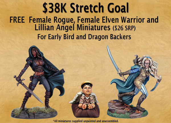 New Stretch Goal - 3 FREE Minis!