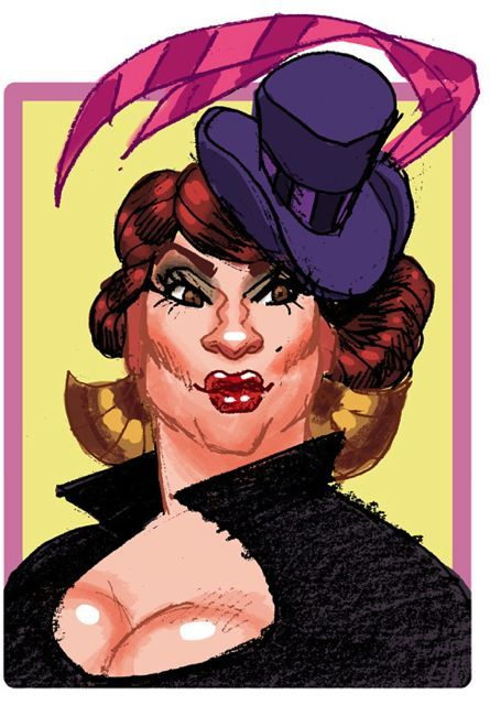 Endora Von Stepford, a playable character