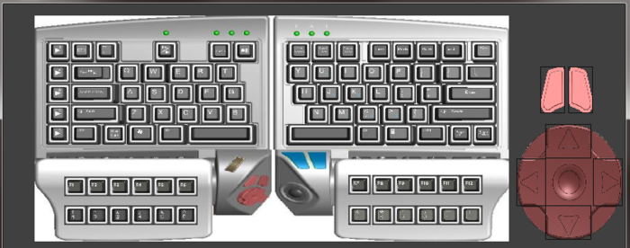GUI - Virtual Keyboard can also be used for programming macros