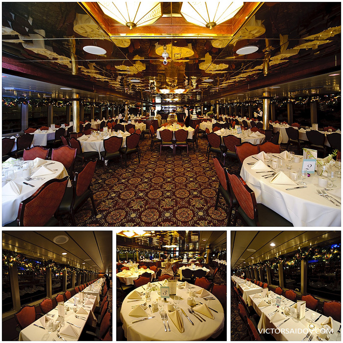 The beautiful Mariner room on the Royal Argosy.