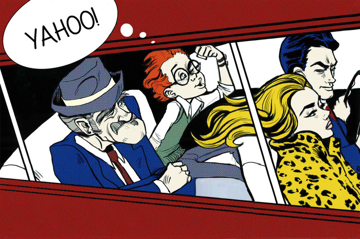 Car chase in a Lichtenstein!