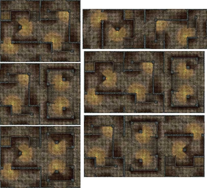 Dungeon Layouts