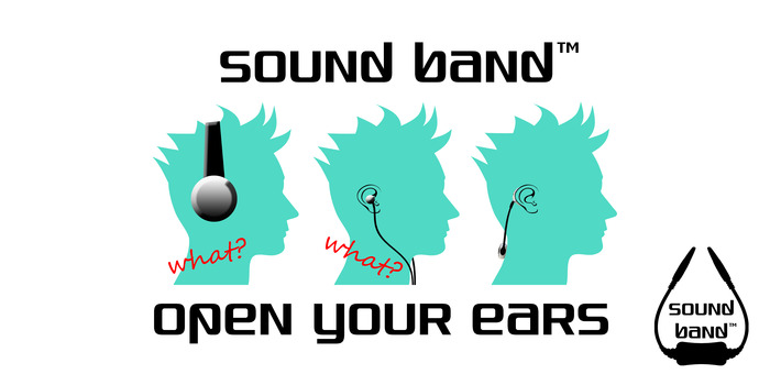 Sound Band doesn't block your ears