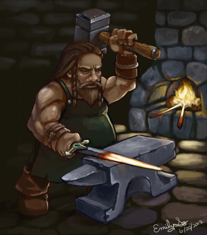 Dwarves use their superior technology and crafting skills to their advantage!