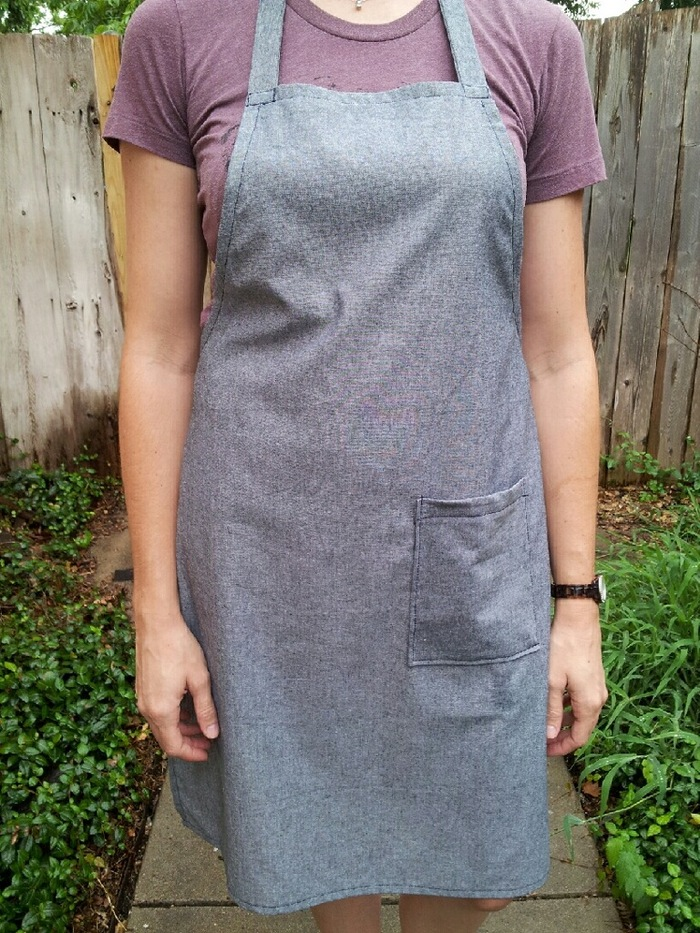 Designer Apron Handmade by Local Dallas Artisan