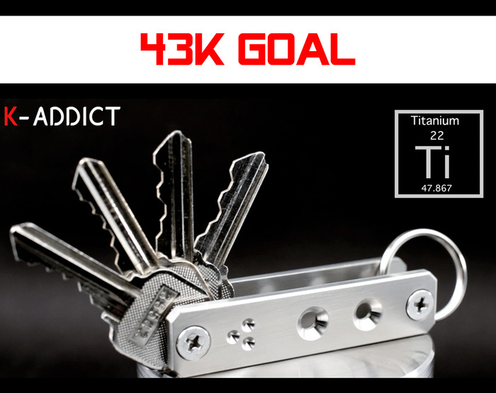 K-Addict Ti by CINEIK 43k Stretch Goal