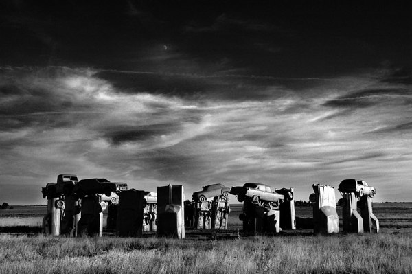 """Carhenge"" -Alliance, Nebraska (2006)"