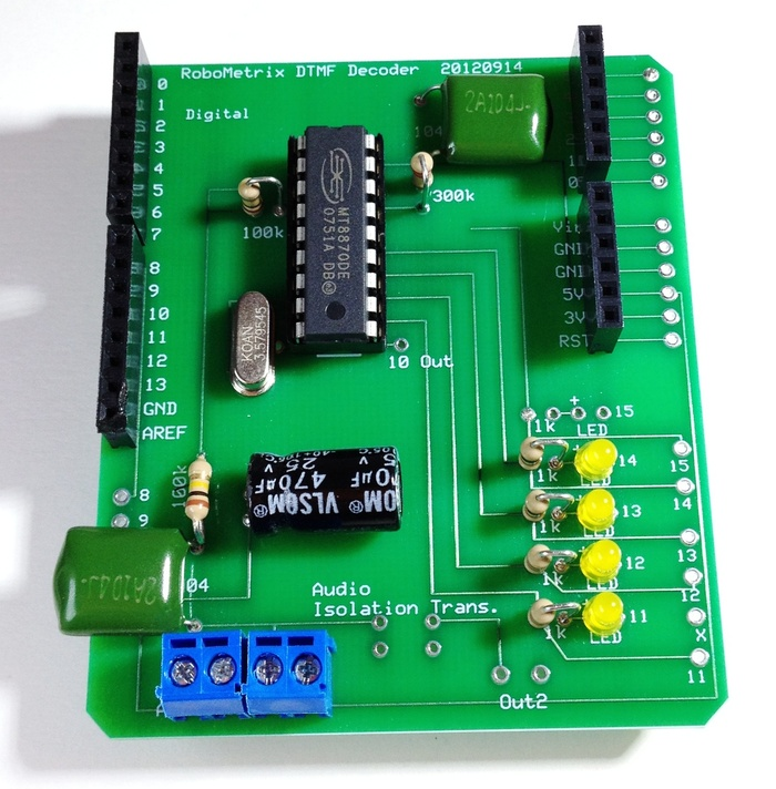 Prototype DTMF Shield