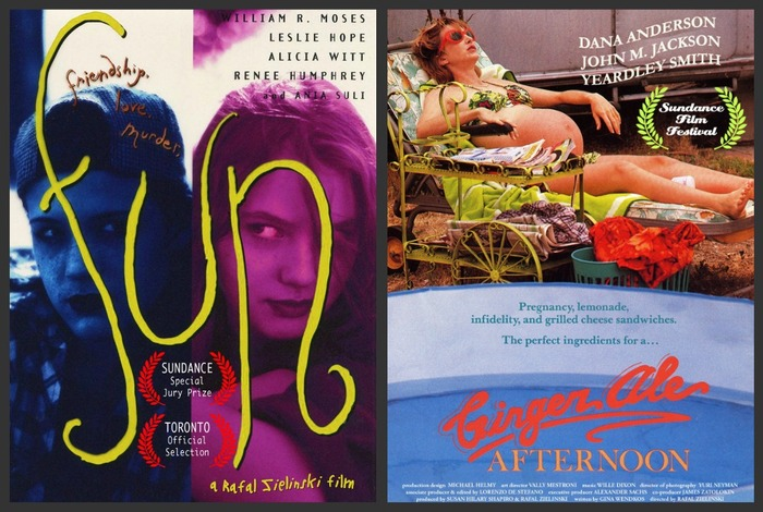 "Both films premiered in the Narrative Competition; (""Ginger Ale Afternoon"" was written by Gina Wendkos, based on her play). ""Fun"" was awarded the Special Jury Award for Acting."