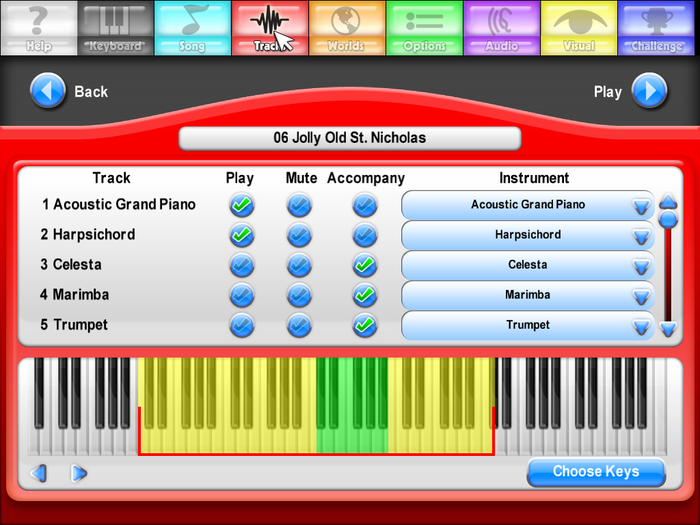 Then you can choose which track (melody, bass, piano etc.) of that piece to learn, and change the arrangement to suit your ears.