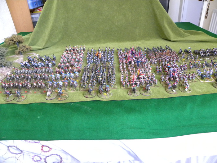Allied Napoleonic Divisions collected so far, much much more on the way...
